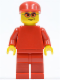 Minifig No: rac037  Name: F1 Ferrari Engineer 3 (8144) - without Torso Stickers