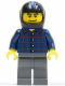 Minifig No: rac041  Name: Hot Rod Driver Plaid (10200)