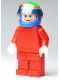 Minifig No: rac043  Name: F1 Ferrari - F. Massa with Helmet Blue Printed - without Torso Stickers