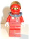 Minifig No: rac046s  Name: F1 Ferrari Pit Crew Member with Scuba Tank (8185) - with Torso Stickers on Front and Back