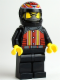 Minifig No: rac047  Name: Devon Daredevil