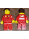 Minifig No: rac051s  Name: F1 Ferrari Pit Crew Mechanic - with Torso Stickers