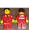 Minifig No: rac051s  Name: F1 Ferrari Pit Crew Mechanic (30196) - with Torso Stickers