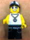 Minifig No: rb003  Name: Rock Band Lead Singer
