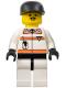 Minifig No: rsq010  Name: Res-Q 2 - Black Cap