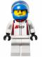 Minifig No: sc025  Name: Audi R8 Driver