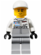 Minifig No: sc030  Name: Porsche Mechanic - Male