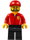 Minifig No: sc050  Name: Ferrari Engineer - Male