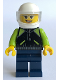 Minifig No: sc057  Name: Classic Female Porsche Racing Driver