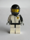 Minifig No: sc065  Name: Historic Ferrari 312 T4 Race Car Driver