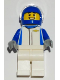 Minifig No: sc068  Name: Chevrolet Camaro ZL1 Race Car Driver