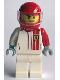 Minifig No: sc077  Name: Ferrari F40 Competizione Driver
