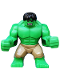 Minifig No: sh013  Name: Hulk - Giant, Dark Tan Pants