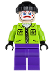 Minifig No: sh020  Name: The Joker's Henchman - Lime Jacket