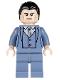 Minifig No: sh026  Name: Bruce Wayne - Sand Blue Suit