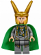 Minifig No: sh033a  Name: Loki - Shiny Starched Fabric Cape (10721)