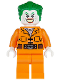 Minifig No: sh061  Name: The Joker - Prison Jumpsuit