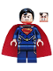 Minifig No: sh077  Name: Superman - Dark Blue Suit