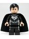 Minifig No: sh137  Name: Superman - Black Suit (San Diego Comic-Con 2013 Exclusive)