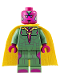 Minifig No: sh178  Name: Vision - Dark Azure Spot on Forehead