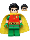 Minifig No: sh200  Name: Robin - Short Sleeves, Spiky Hair