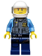 Minifig No: sh203  Name: Police Officer - Juniors (10687)