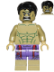 Minifig No: sh212  Name: Hulk - Dark Purple Pants with Dark Red Pattern