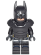 Minifig No: sh217a  Name: Batman - Armored, without Cape