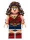 Minifig No: sh221  Name: Wonder Woman - Dark Brown Hair