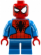 Minifig No: sh248  Name: Spider-Man - Short Legs