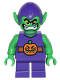 Minifig No: sh249  Name: Green Goblin - Short Legs