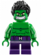 Minifig No: sh252  Name: Hulk - Short Legs