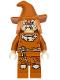 Minifig No: sh275  Name: Scarecrow, Dark Orange Floppy Hat