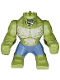 Minifig No: sh280  Name: Big Figure - Killer Croc with Sand Blue Pants