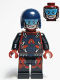 Minifig No: sh293  Name: ATOM - San Diego Comic-Con 2016 Exclusive