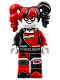 Minifig No: sh306  Name: Harley Quinn - Pigtails