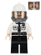 Minifig No: sh320  Name: Security Guard, Fire Helmet
