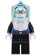 Minifig No: sh355  Name: Mr. Freeze (10737)