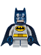 Minifig No: sh356  Name: Batman - Short Legs, Dark Blue Cape