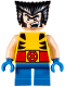 Minifig No: sh364  Name: Wolverine - Short Legs
