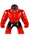 Minifig No: sh370  Name: Big Figure - Red Hulk
