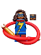 Minifig No: sh375  Name: Ms. Marvel