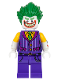Minifig No: sh447  Name: The Joker - Striped Vest, Shirtsleeves, Smile with Pointed Teeth Grin