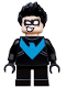 Minifig No: sh481  Name: Nightwing - Short Legs (76093)