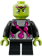 Minifig No: sh484  Name: Brainiac - Short Legs (76094)