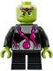 Minifig No: sh484  Name: Brainiac - Short Legs