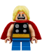 Minifig No: sh485  Name: Thor - Short Legs (76091)