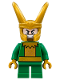 Minifig No: sh486  Name: Loki - Short Legs (76091)