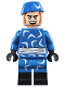 Minifig No: sh491  Name: Captain Boomerang - Blue Outfit