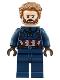 Minifig No: sh495  Name: Captain America, Beard
